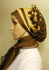 Hijab Head Scarf Slip-On One Piece Bonnet Style