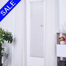 PVC Venetian Window Blinds Easy Fit Multiple Sizes White