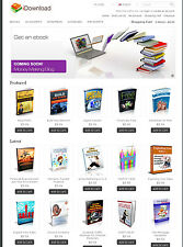 eBook/Scripts Online Shop Website For Sale
