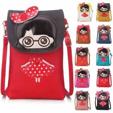 Big Handbag Shop Little Girl Cross Body Messenger Mobile Pouch Purse