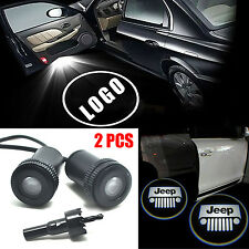 2X Car Auto LED Laser Logo Step Lamps Ghost Shadow Courtesy Door Light Projector
