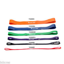 Rubber Stretch Resistance Band Exercise Loop Strength GYM Bodybuilding Crossfit