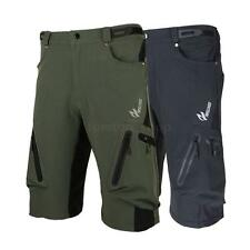 Cycling Baggy Shorts Bicycle MTB Pants Shorts Breathable + Zippered Pockets