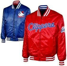 Los Angeles Clippers Reversible Red/Royal Blue Satin Jacket Big Sizes