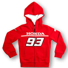 Marc Marquez 93 Dual Honda Moto GP Kids Fleece Hoodie Red Official 2016
