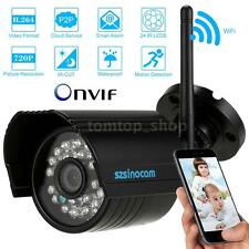 Wireless P2P Wifi IP Camera 1.0MP H.264 ONVIF Night Vision Camera Webcam B13