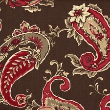 Beacon Hill Coffee Round Tablecloth with Topper