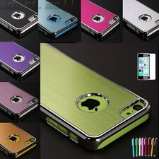 """Aluminum Heavy Duty Rugged Hard Case Cover For Apple iPhone 5C iPhone 6 4.7"""" SM"""