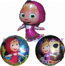 MASHA AND THE BEAR BALLOON BIRTHDAY PARTY SUPPLIES -1PCE
