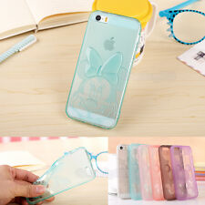 New 3D Lovely Cute Cartoon  TPU Soft Case for Apple iPhone 4S 5S 6  6Plus