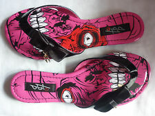 IRON FIST LADIES GOLD DIGGER SANDALS UK 3 PINK ZOMBIE STOMPER SALE SALE SALE
