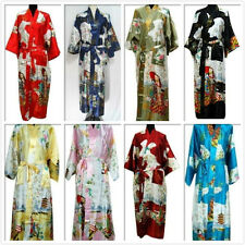 Retro kimono Japanese Yukata Obi Robe Geisha Dress Gown Bath Robe Pajamas