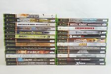 Microsoft Xbox Replacement Case & Manual ONLY,Original/Genuine,25 to Choose-#1
