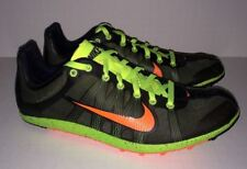 NEW Mens 8 NIKE Zoom Victory XC Cross Country Khaki Volt Orange Track Spike Shoe
