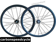 2015 Hot Sale Carbon fixed gear Bicycle Wheels 38mm Clincher/Tubular track Hubs