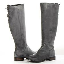 Perugia Boots Stina Black Leather Women New