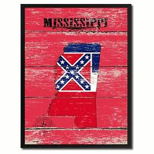 Mississippi Gift Ideas Birthday Housewarming OpenHouse Wedding Decoration Art