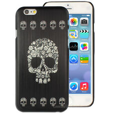 Goth Skull Printed Hard Case for Apple iPhone 5C 6 6+ 6S plus Cover