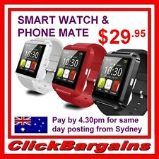 BLUETOOTH BT SMART WATCH PHONE MATE PEDOMETER for IOS Android Iphone Samsung etc