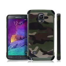 Hybrid Shockproof Army Camo Camouflage Protective Case For Samsung Galaxy Note 4