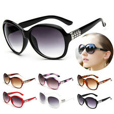 Vintage Fashion Designer Oversized Sunglasses Womens Retro Glasses Eyewear New