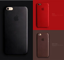 Brand New Ultra-thin Genuine Leather Soft Back Case Cover Skin For iPhone6 6Plus