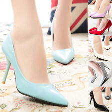 New Womens Slim High Heel Pumps Stiletto Sexy Pointy Toe Evening Career Shoes