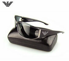HOT MEN'S CLASSIC FASHION POLARIZED AVIATOR SUNGLASSES BLACK/SILVER