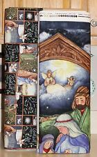 Christmas Nativity Let Us Adore Him Coordinating Fabrics by Springs Creative bty