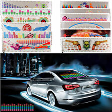 90x25cm Car Sticker Music Rhythm LED Flash Light Sound Activated Equalizer