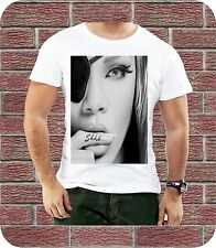 RIHANNA, SHHH TATTOOS, SEXY, FINGER, MENS T SHIRT, MUSIC BIRTHDAY GIFT SUMMER