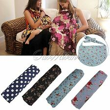 Women Udder Covers Mum Breastfeeding Baby Nursing Blanket Poncho Cotton Shawl