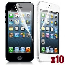 10X CLEAR LCD FRONT TOUCHSCREEN PROTECTOR SCREEN GUARD FOR APPLE IPHONE 5 5C 5S