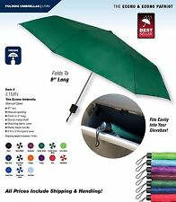 The Econo Umbrella by StrombergBrand Folding Travel Compact Manual Umbrellas