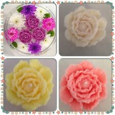 Beautiful hand made Floating candles/Peony flower - Bespoke colours available