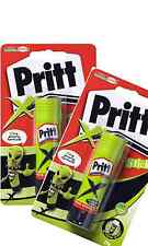 2 x Pritt Stick Extreme Green Extra Strong Formula Crafting Home New FREE UK P&P