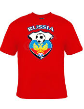 Russia Soccer Team T-Shirt Euro Football 2016 Red S-3XL NEW Adult Youth Sizes