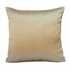 Light Tan Silk Decorative Throw Pillow Cover,Modern Pillow,Accent Pillow,Toss