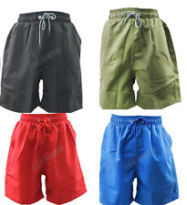 Mens Swimming Board Shorts Swim Shorts Trunks Swimwear Beach Summer Boys Plain
