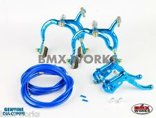 Dia-Compe Blue MX890 with MX121 (Tech 3) Levers Package Old School BMX Mongoose
