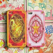 New Anime CardCaptor Sakura Clow Card Cover Case For iPhone4 4S 5 5S 6 6plus HOT
