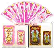 56pcs /set Cosplay Cards CardCaptor Sakura Card Captor Magical Clow poker Gift