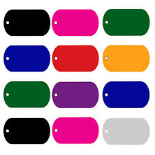 Custom Engraved Dog Tag Pet Tag GI Military Shape Buy 3 Get 3 FREE Best Deal