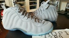 Nike Air Foamposite One 1 PRM Premium Suede Wolf Grey White Cool Pro 575420-007
