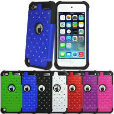 NEW Diamante Tough Impact Case for Apple iPod Touch 5 5th Gen 5G Cover