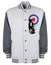 MOD TARGET SCOOTER VARSITY JACKET - The Who Jam Vespa Mods Scooters T-Shirt