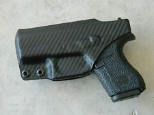 GLOCK 42 CUSTOM IWB KYDEX HOLSTER (CARBON FIBER BLACK)