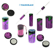 Tadiran 3.6v Lithium Thionyl Chloride Batteries ☆Wafer☆AA☆C☆D☆1/2AA☆2/3AA☆