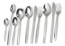 Cutlery Plain Pattern S/S Bulk Buy 8 Piece Setting  18/0 catering use