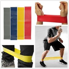 Yoga Exercise Tension Band Belt Crossfit Training Fitness Latex Stretch Elastic